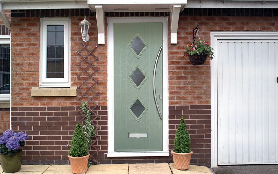 Chartwell green composite door installation
