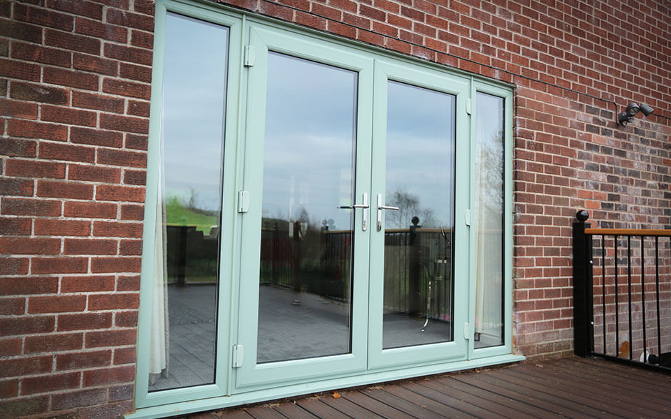 Chartwell green french door installation