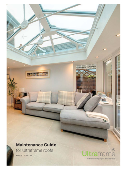 Ultraframe Roof - Maintenance Guide